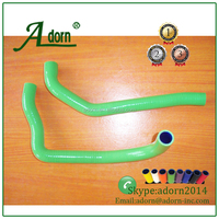 Motorcycle Silicone hose kits for KAWASAKI NINJA ZX10R ZX-10R 06-10 Radiator Coolant Hose