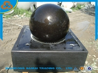 garden fengshui floating rolling ball fountain for sale