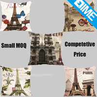 Retro Vintage Paris new style Home Decorative Pillow Case