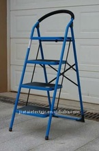 4 Steps Color Coated Steel Step Ladder