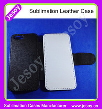 JESOY Heat Transfer Blank Sublimation phone cases leather flip cover for NOKIA lumia 920