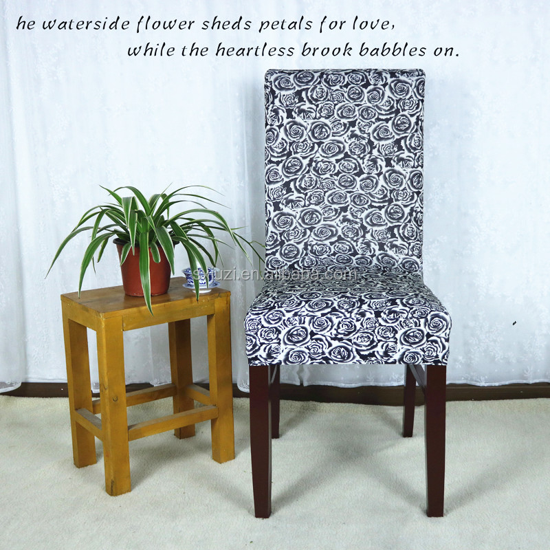 Stretch Short Removable Dining Chair Cover Wholesale Cheap Chair Covers