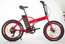 fat tire 48V folding pedal assisted bike electric bike
