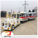 Commercial amusement park electric tourist trackless train rides for sale