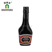 Glass bottle old brand delicious Mushroom soy sauce/dark soy sauce brands mini size