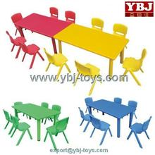 2014 sale cheap plastic tables and chairs made in china