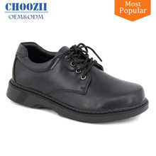 Choozii Lace up Children International Original Leather School Uniforms Shoes