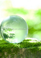 wholesale clear crystal ball glass earth globe