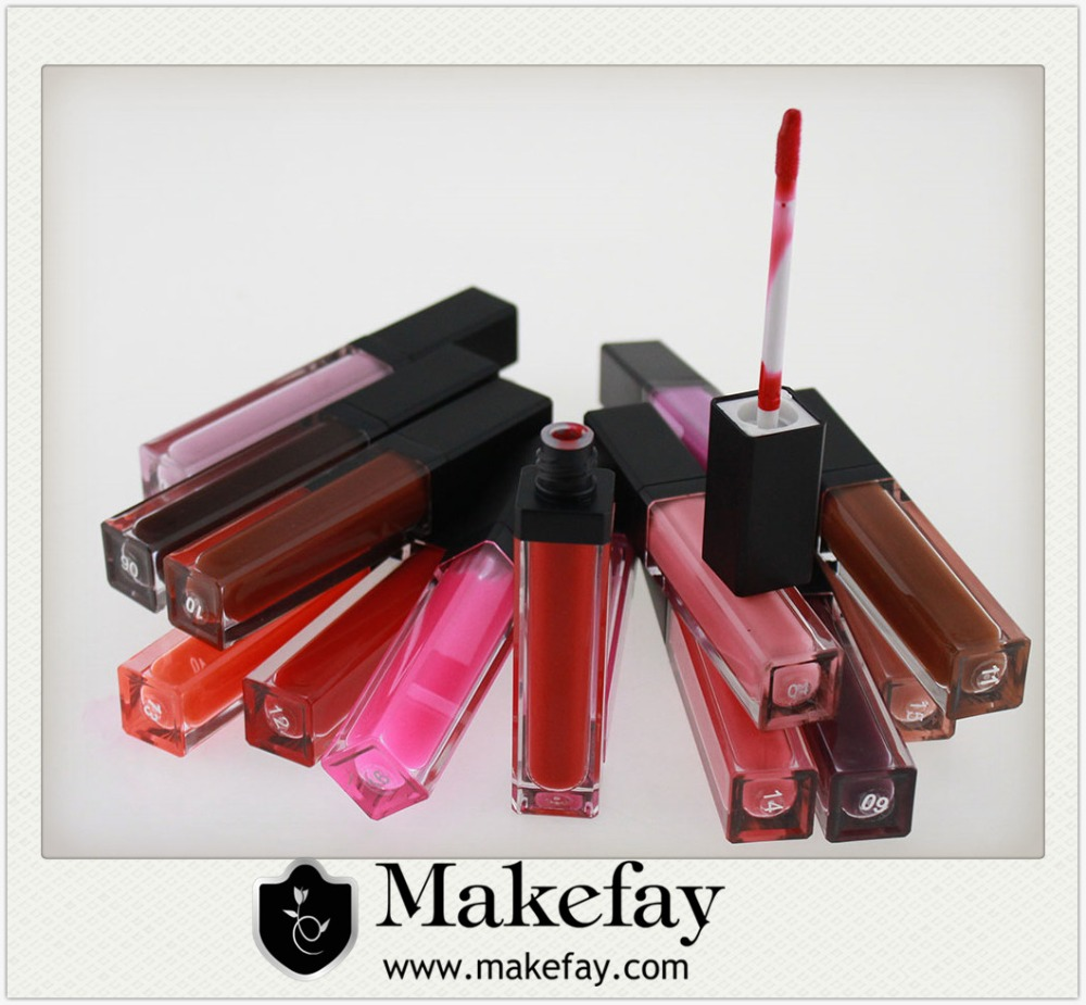 2016 New arrival high quality matte liquid lipgloss
