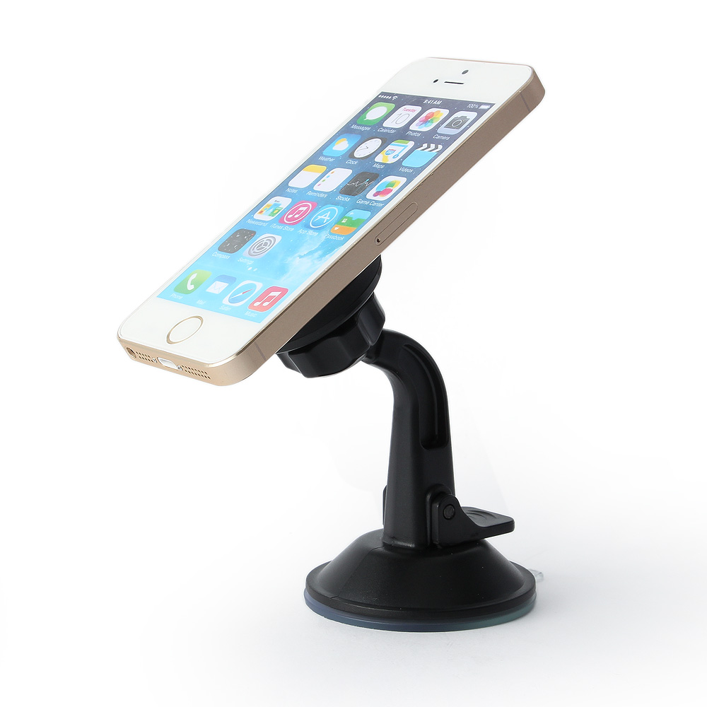 Multi use magnet 360 rotation universal magnetic mobile phone holder, car dashboard GPS mount, family usage tablet stand