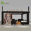 Modern jewelry display counter with jewelry shop interior furniture design for sale