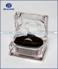 factory direct manufacture luxury high quality end clear box packaging