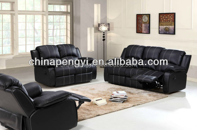 Home furniture special design reclining sofa sets