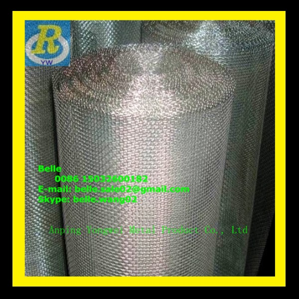 stainless steel dust proof security window screen mesh (ISO Manufacturer)