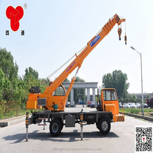 SITONG Hydraulic 8 ton mobile truck with crane for export