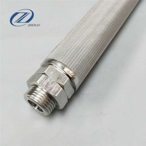 stainless steel backwashing filter strainer notched wire element for Marine Engine Lube oil