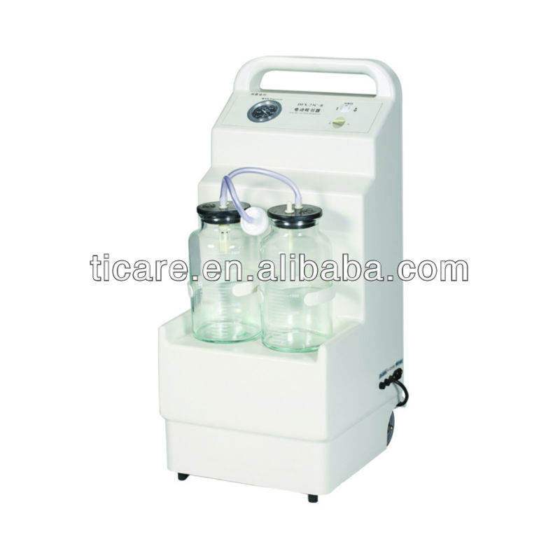 Electric Suction Apparatus Aspirator/Mobile Plastic Hospital Medical Suction Machine