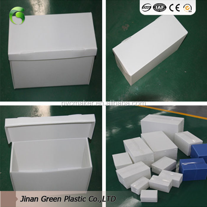 2018 Green brand PP <strong>Material</strong> Corrugated <strong>Plastic</strong> Box/Coroplast Box