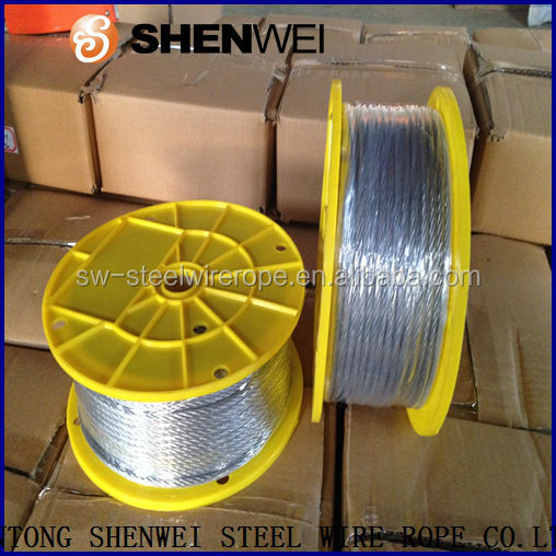 steel cable plastic reel