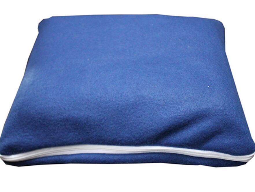 airplane fleece blanket with zipper pocket