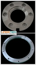 high quality CNC precision train flange