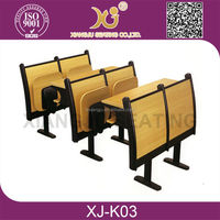 Professional inspection services / School Furniture Student Desk and Chair set / High Quality Control in China XJ-K03