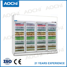 Top mount grocery store refrigeration display cooler with CE certificate