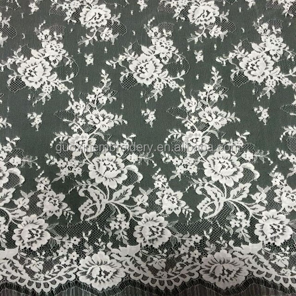 2015 French long sleeve lace for evening gown