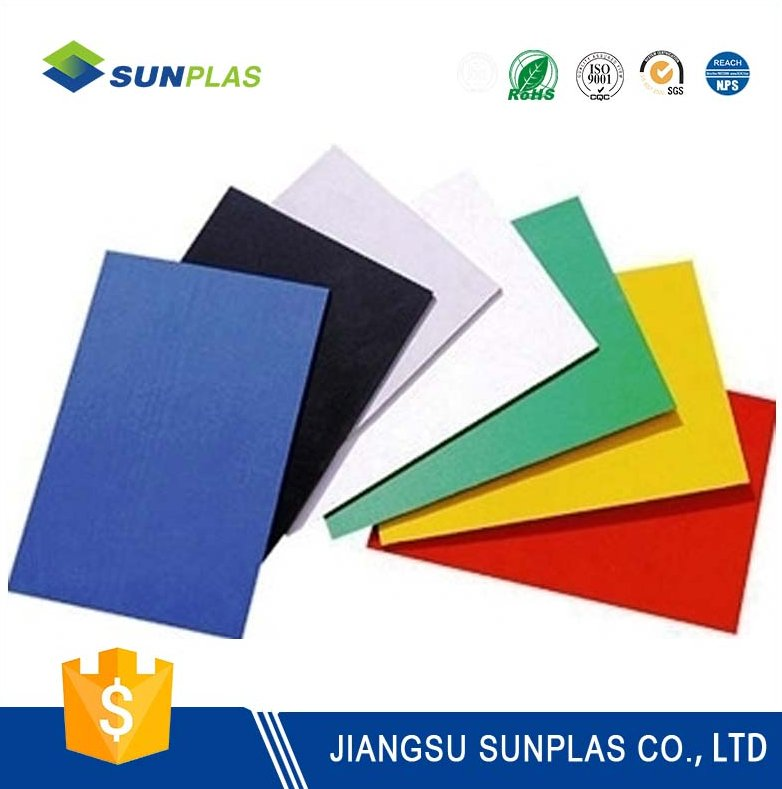 custom made raw ABS plastic material Weather Resistant Sheet price