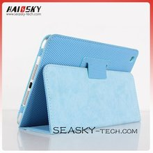 latest basket ball veins PU leather standing wrap for ipad mini