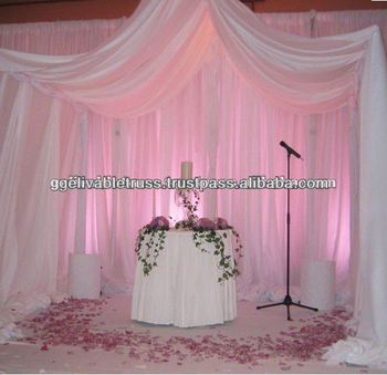 used wedding backdrops for sale buy wedding backdrop curtain pipe curtain rod product on. Black Bedroom Furniture Sets. Home Design Ideas