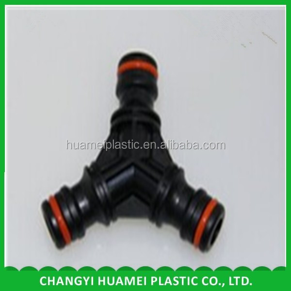 Pipe joint Y type Tee joint manufacturer Plastic joints