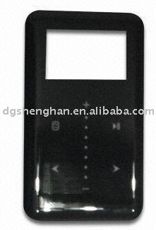 injection mold plastic case for mp3/mp4 player