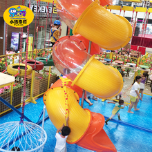 Outdoor Playground Large Plastic Tube Slides for Sale