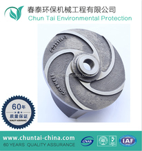 60 years machining expirence stainless steel marine impeller