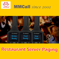 MMcall Restaurant server paging system waterproof watch pager calling systems