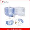 Customized color 2 Gallon rectangle plastic wholesale water jug with spigot(KL-8010)