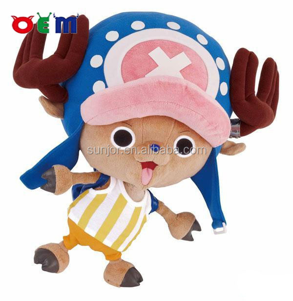 custom of one piece chopper plush toys,custom plush toy