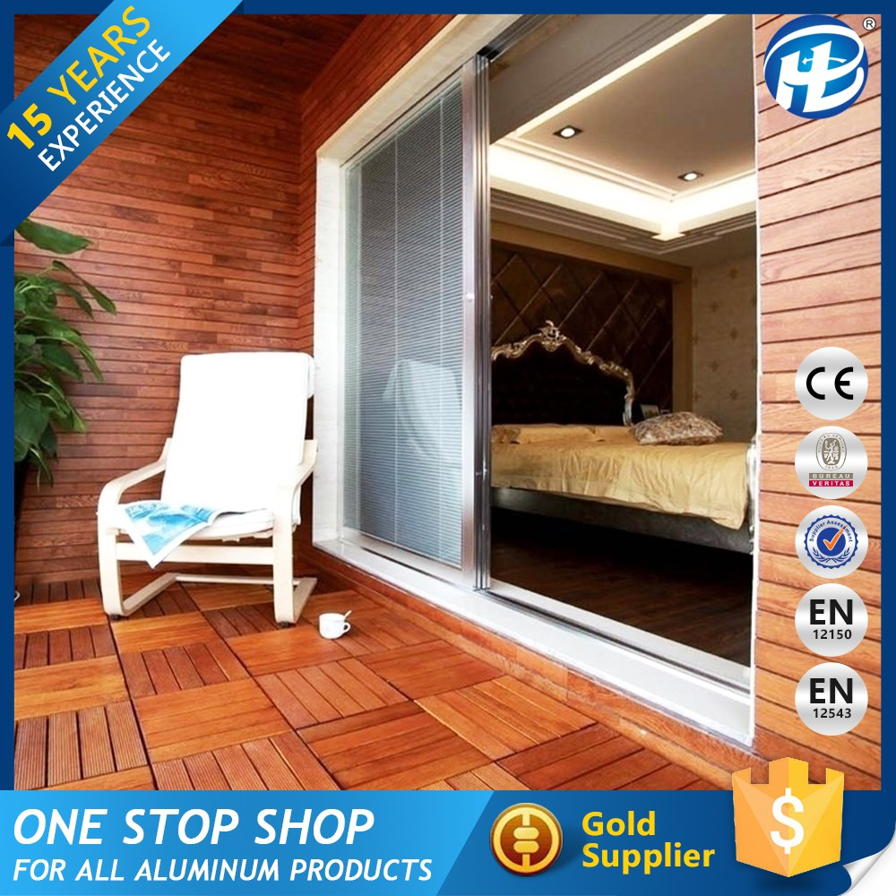 Alibaba China Market Thermal Break Aluminium Sliding Wardrobe Doors