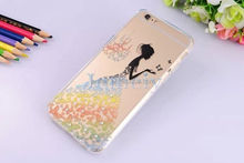 Mobile Phone Case Rhinestone TPU Cover For Apple Small MOQ