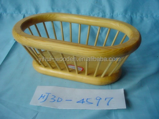 Hot new small wood bread tray,round wooden tray