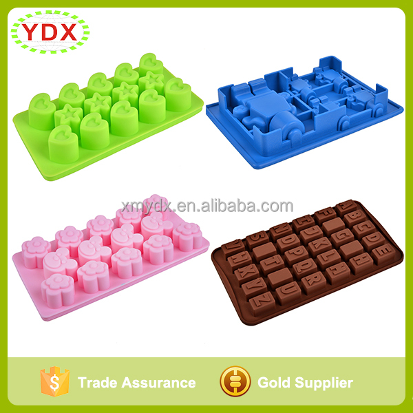 Factory Multiple Styles Cake Molds Existing 3d Silicone Cake Tools Ice Molds