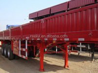 45Tons 3Axles Flat Cargo Trailers