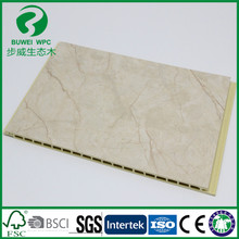 Stone design Marble vein wpc wall panel / wpc board / decorative wall panels interior