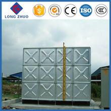 Eco-friendly Galvanized Steel Water Tanks, Modular Galvanized Steel Tank with 1.22*1.22m Panel