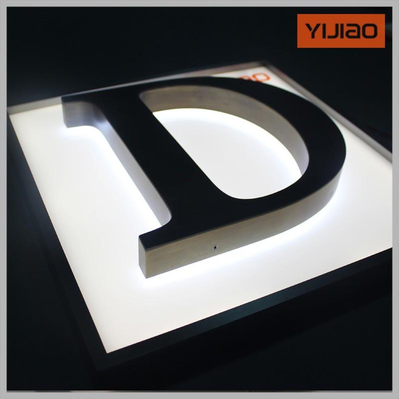 3d Sign Alphabet Letter