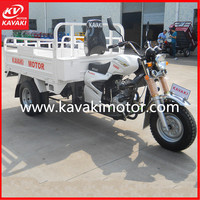 2016 Guangzhou Kavaki Tricycle Factory Most Popular Model Customized Engine Tricycle 150cc 200cc 250cc