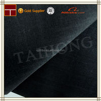 t/c 80/20 45*45 96*72 wholesale cheap hot sale t/c plain dyed black calico fabric