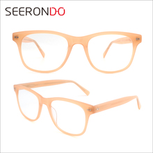 SEERONDO High Quality Acetate Optical Female Spectacle Latest New Model Of Glasses Frames
