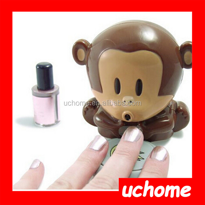 UCHOME best selling Electric Wind Automatic Pressure Activates monkey nail dryer